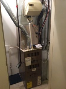 Furnace With Media Air Cleaner